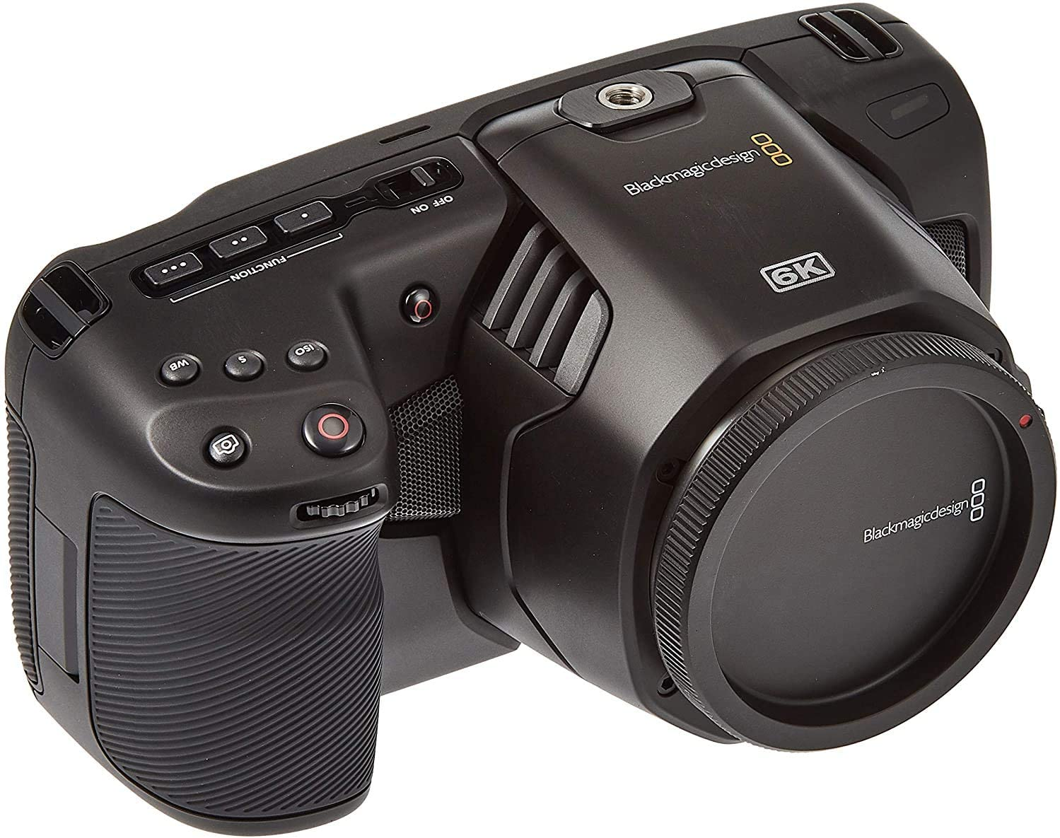 Amazon Com Blackmagic Design Pocket Cinema Camera 6k With Ef Lens Mount Camera Photo