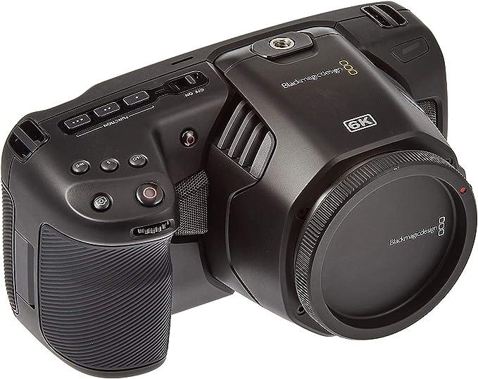 Blackmagic Design Pocket Cinema Camera 6k With Ef Lens Amazon Co Uk Camera Photo