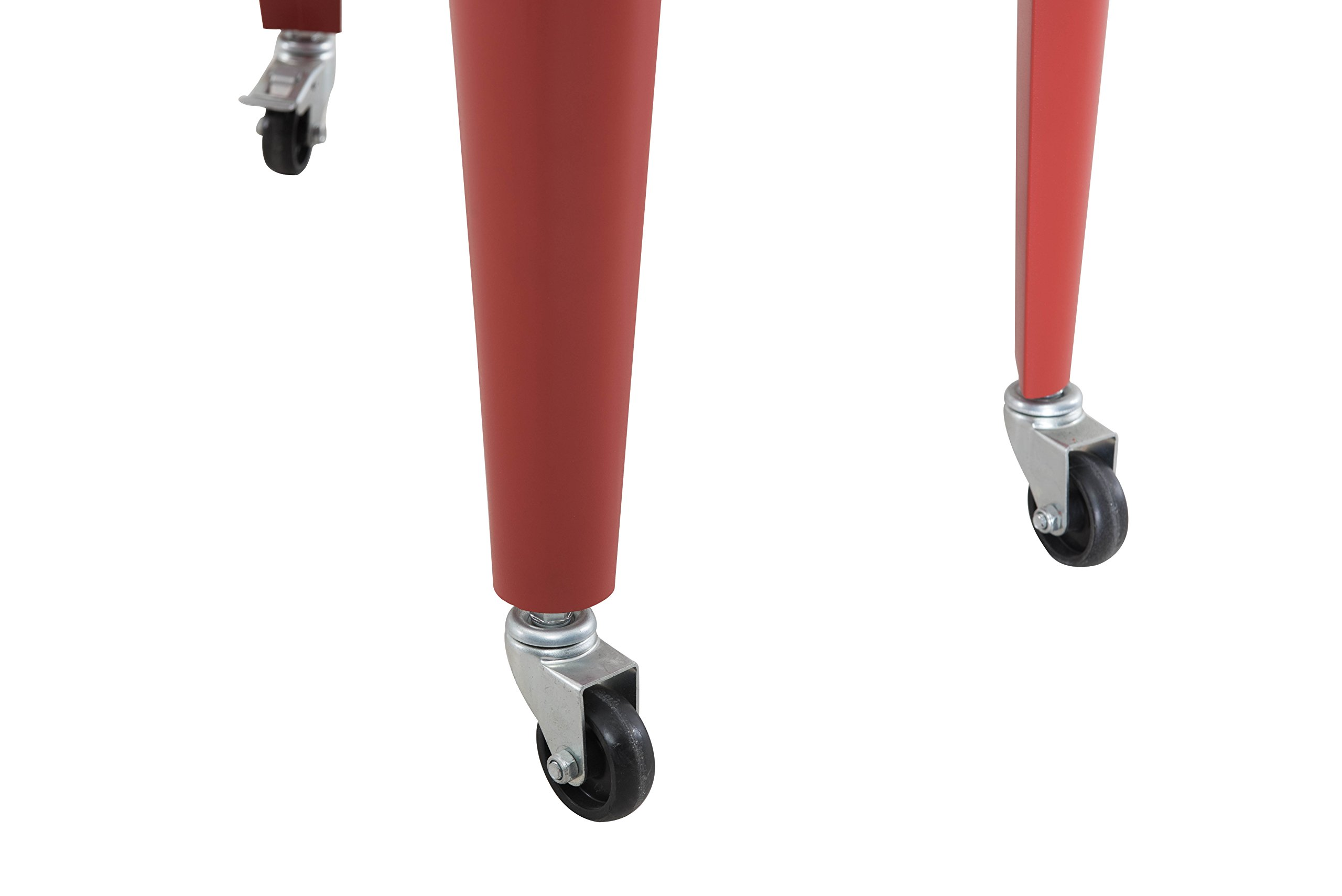 Sunjoy L-BC153PST 60 quart Wheeled Beverage Cooler in Red by sunjoy (Image #13)