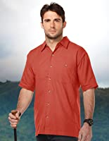 Tri-mountain Mens 60% Cotton/40% Polyester W702-RUST
