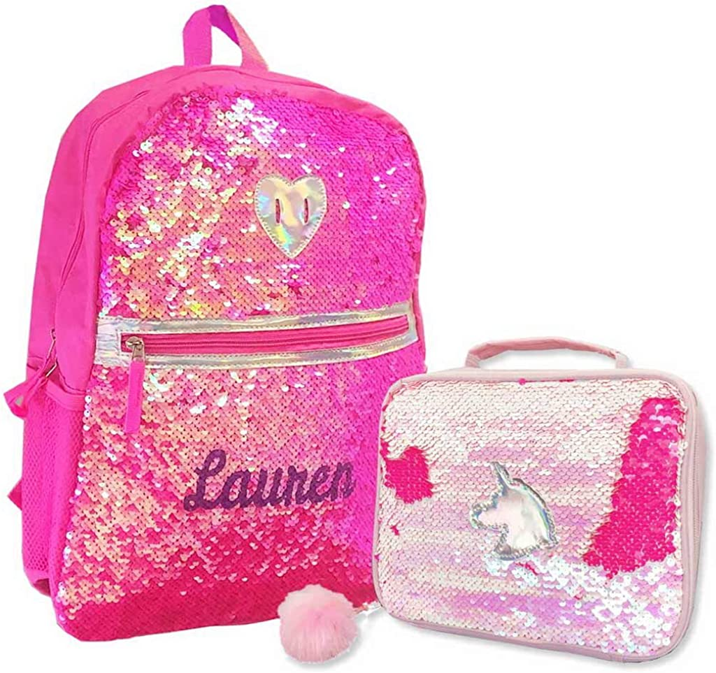 Personalized Magic Reversible Sequins Backpack