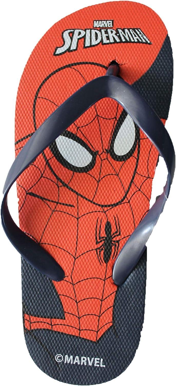 Spiderman-Marvel Tongs de Piscine et Plage Claquettes 3D Enfant gar/çon Rouge//Bleu du 26 au 33