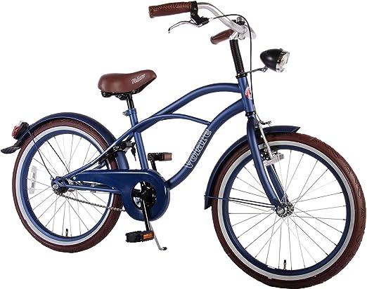 50.8 cm Volare Bicicleta para niños bicicleta Cruiser Blue azul ...