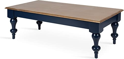 Picket House Furnishings Caleb Coffee Table w Marble Top