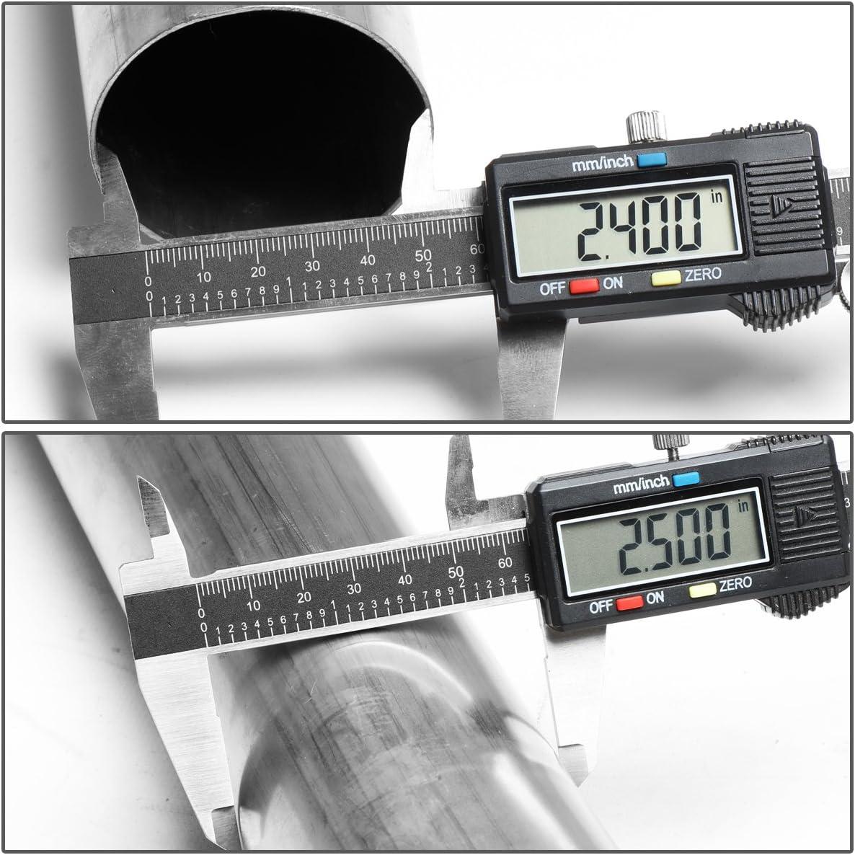 DNA MOTORING CBE-TTAC05-40L Muffler Catback Exhaust System for 05-15 Tacoma 4.0L