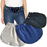 Cinturón para el Vientre Combo Maternity Belly Band Pantalones elásticos Ajustables Mujeres Embarazadas Solución para Embarazadas