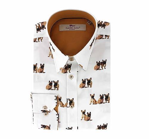 Claudio Lugli - Camisas - para mujer blanco blanco 42