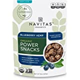 Navitas Organics Blueberry Hemp Superfood Power Snack, 8 oz. Bag, 11 Servings
