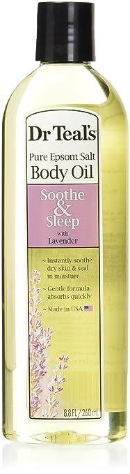 Dr Teal's Bath Additive Lavender Oil, 8.8 Ounce