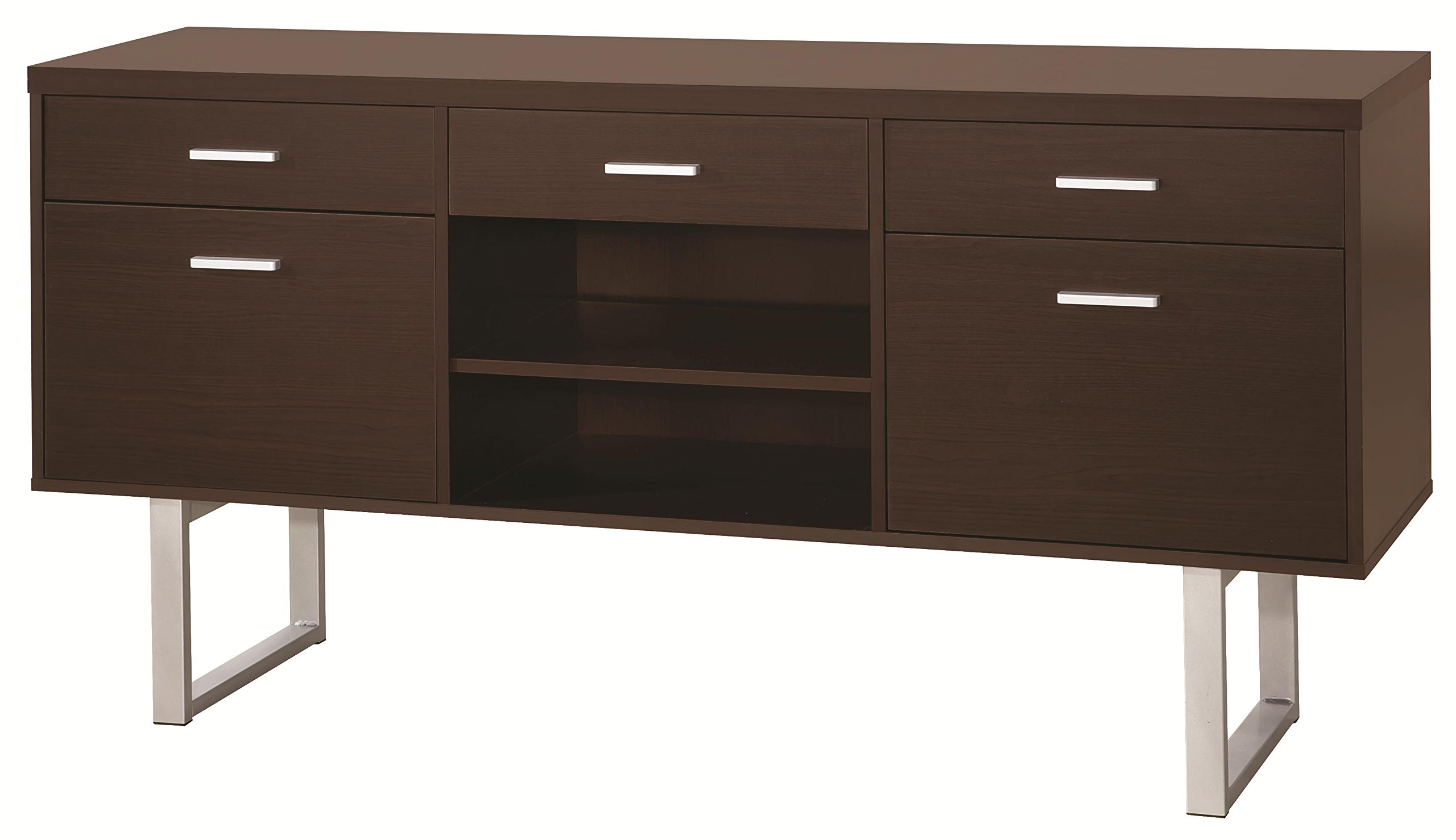 Credenza Contemporary : Contemporary sideboard wooden calvin klein home