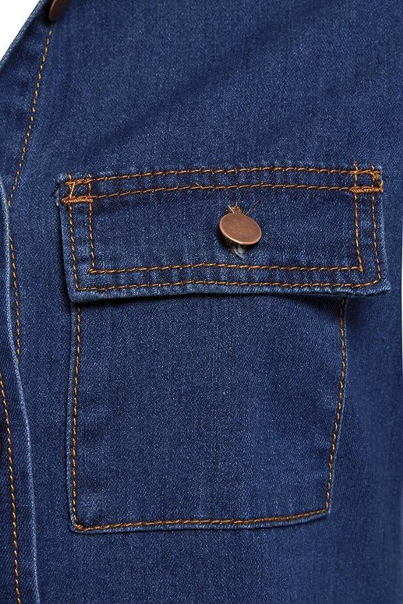 SS7 neuf r/étro Bleu Denim Robe Chemise Tailles 34-14
