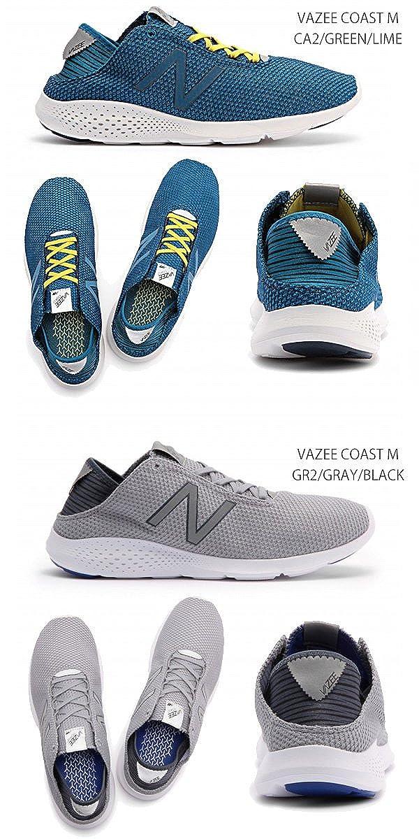 6b22e507eff03 Amazon   [ノーブランド品] New Balance VAZEE COAST M D ニューバランス 29.0 GRAY/BLACK/GR2  [ メンズ ランニング シューズ 靴 男性 スニーカー スポーツ ]   ノー ...
