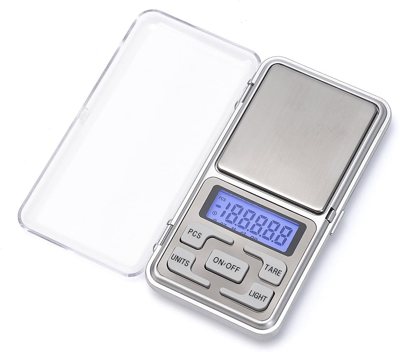 Gram Scale Digital Pocket Scale - High Accuracy 0.01g Capacity 500g Mini Portable Kitchen Weed Scale Back-Lit for Food,Jewelry,Coffee,Tea,Pill etc