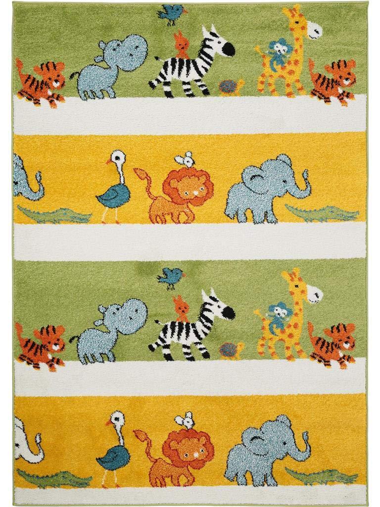 Benuta Kinderteppich Noa Africa Multicolor 120x170 cm   Teppich für Spiel- und Kinderzimmer