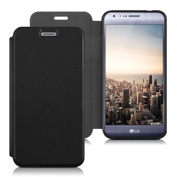2 opinioni per kwmobile LG X Cam Cover- Custodia a Libro in Simil Pelle PU per Smartphone LG X