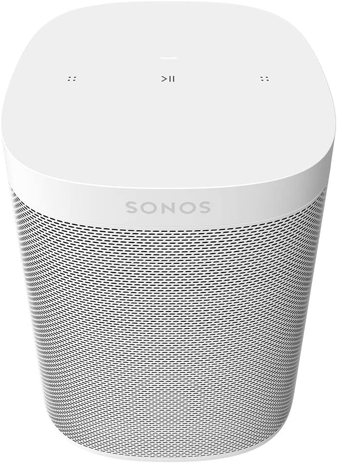All-New Sonos One SL - The Powerful Microphone-Free Speaker for Music and More - White