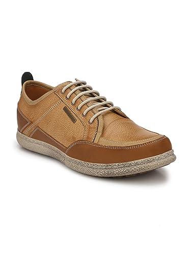 271bafe50c9625 Alberto Torresi DOMNATO Camel+Whisky+Brown Casual Shoes: Amazon.in ...