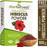 Attar Ayurveda Hibiscus powder for hair growth (100 Grams) (100 grams)