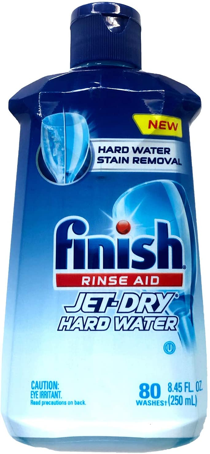 Finish Jet Dry Dishwasher Rinse Aid, Hardwater Protection