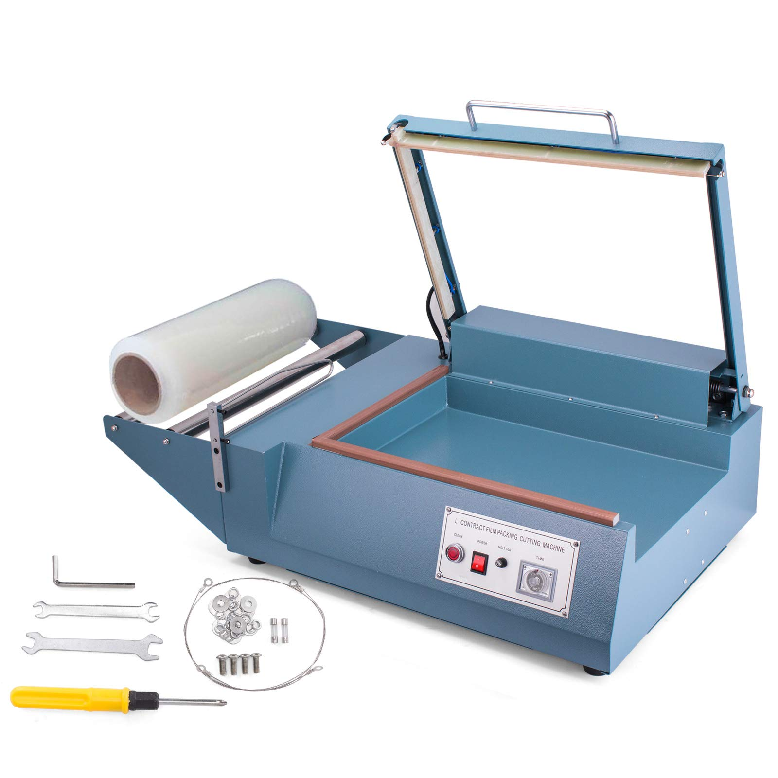 Mophorn FQL-380L L-Bar Sealer 800W L-Bar Shrink Wrap Sealer Cutting Size 20 x 13.8 Inch L-Bar Sealer Machine for Home Commercial Use by Mophorn (Image #1)