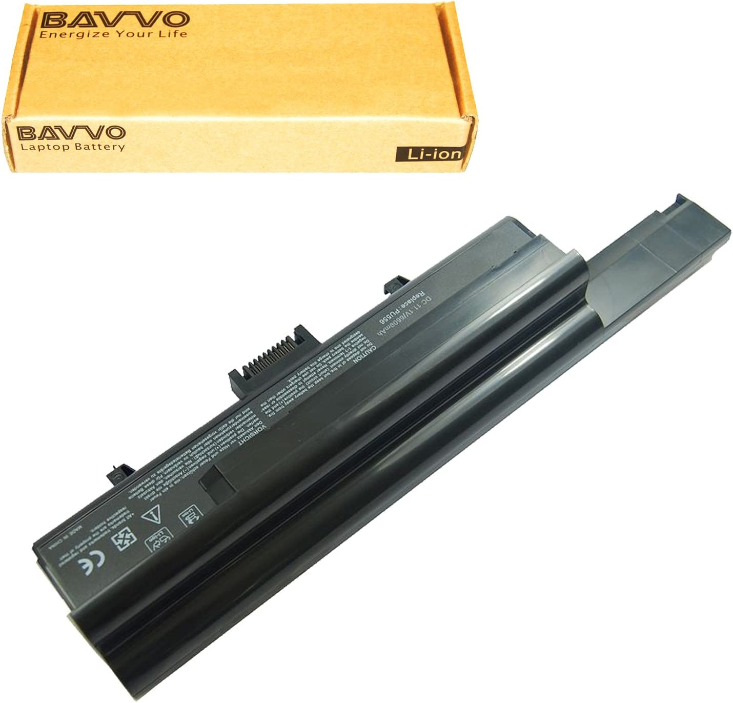 Bavvo 9-Cell Battery Compatible with DELL XPS M1330 Inspiron 1318 Series Fits UM230 PU556 CR036 T485 312-0566