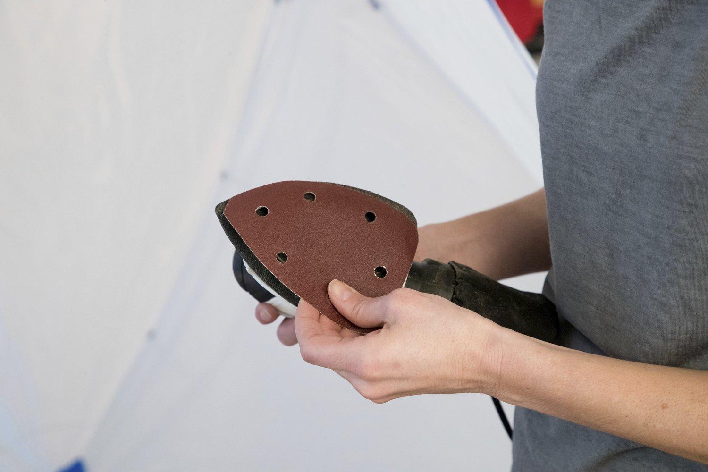 130 W WAGNER Schleifger/ät Studio Home Decor Schleifplatte 140 x 98 mm 14000 U//min Kabel 2 m