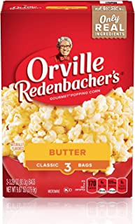 product image for Orville Redenbacher's Butter Popcorn, Classic Bag, 3-Count