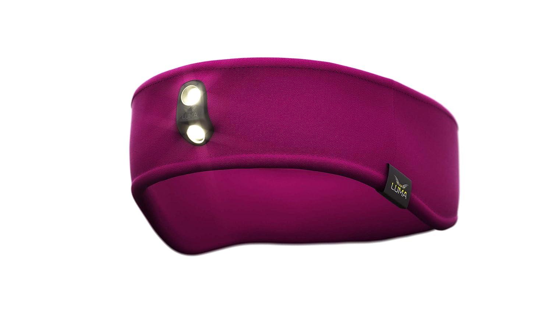 Malu LUMA Active LED Licht Stirnband Violett S/M