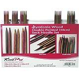 KnitPro 20650 Nadelspiel Set Symfonie Holz 10 cm