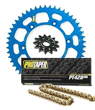 Pro Taper Front & Rear Sprockets & PT428MX Chain Kit - 14/49