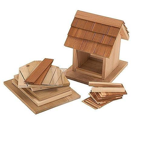 Bird Feeder Kit Woodworking Project Kits Amazon Com