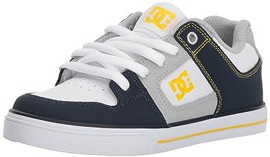 eab23b4f4d8 Amazon.com | DC Kids Youth Boy's Pure Skate Shoes | Skateboarding