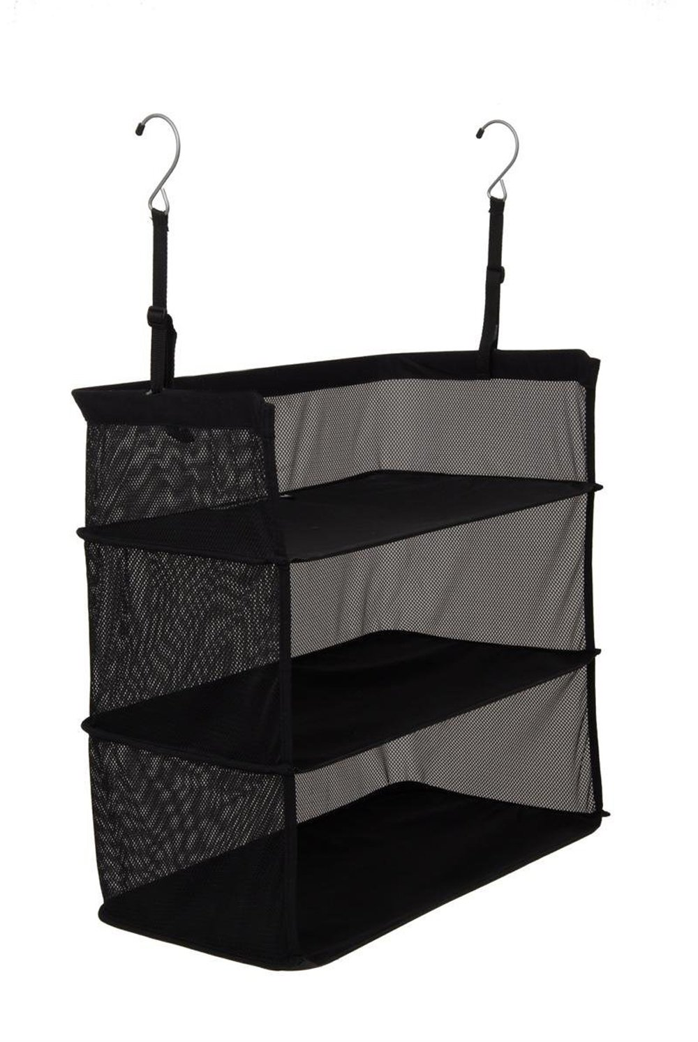 TopEva Deluxe Packable Shelves Haning Closet Organizer