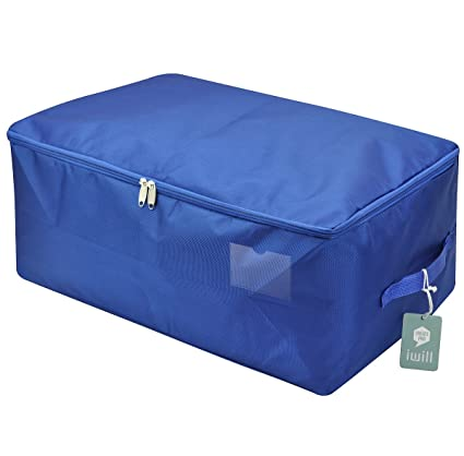 Nice Iwill CREATE PRO Waterproof Thick Oxford Comforter Storage Bag, Collapsible  Design, Durable Handles For