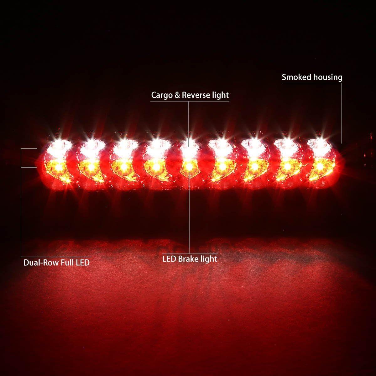 DNA MOTORING 3BL-DRM02-LED-SM Third Brake Light