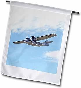 Danita Delimont - Vintage Airplanes - New Zealand, Warbirds Over Wanaka, Vintage Plane-AU02 DWA5971 - David Wall - 18 x 27 inch Garden Flag (fl_75980_2)
