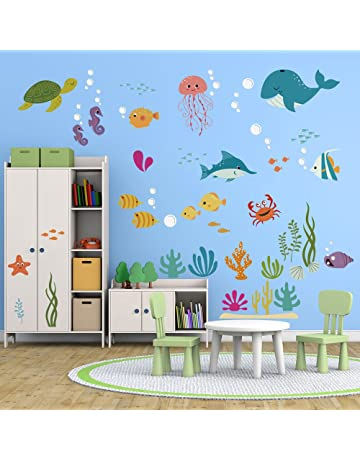 Enjoyable Amazon Co Uk Nursery Wall Stickers Home Interior And Landscaping Pimpapssignezvosmurscom