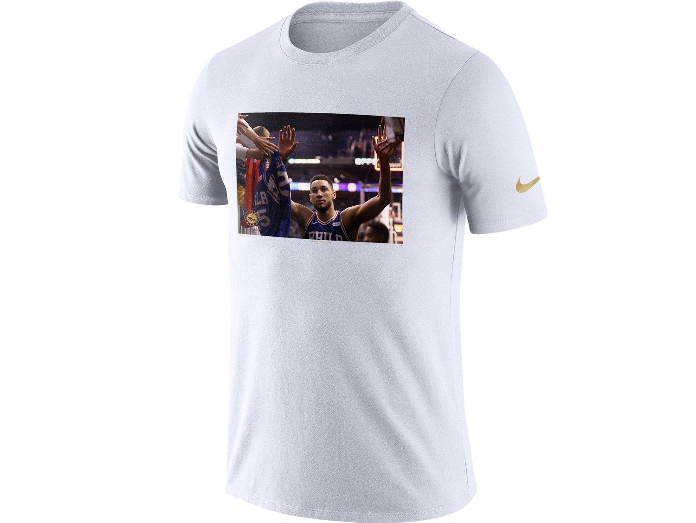 (ナイキ) NIKE NBAプレイヤーモデル Tシャツ 【PLAYER PACK PERFORMANCE T-SHIRT/WHT】 [並行輸入品] B07CZXLTKT Small|ベン シモンズ ベン シモンズ Small