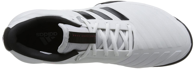 new styles ea420 ff931 adidas Barricade 2018 para hombre, blanco   negro Blanco