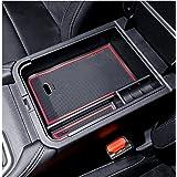YEE PIN 2020 Sentra SR Center Console Organizer Tray Sentra Armrest Tray Armrest Box Secondary Storage Insert ABS Materials T