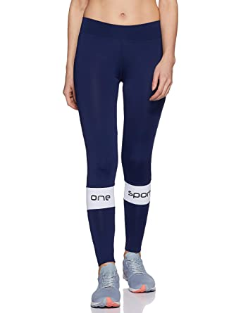 42c922bafc3 ONESPORT Women s Polyester Spandex Jersey Navy Tights(ONSP30NY-P ...