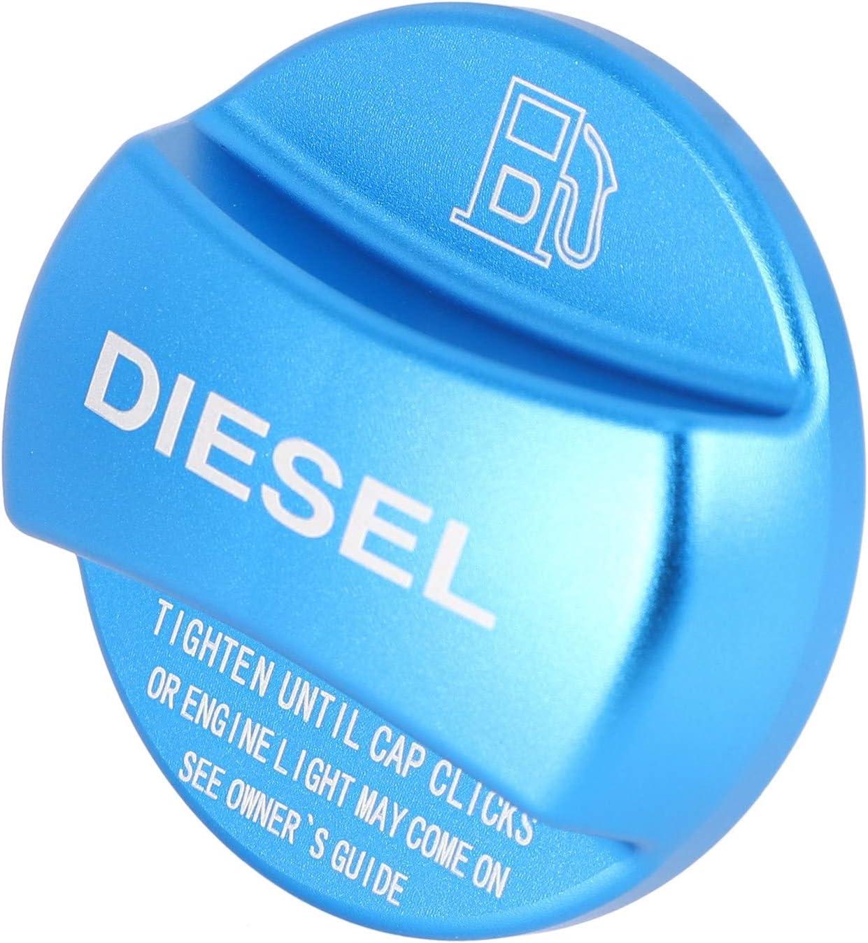 WOVELOT Garniture de Couvercle de Bouchon de R/éservoir de Carburant en Alliage DAluminium pour X1 X2 X3 X4 X5 X6 F10 F15 F16 F25 F26 F30 F34 F35 F48 F47 G30 G38 Essence Bleue