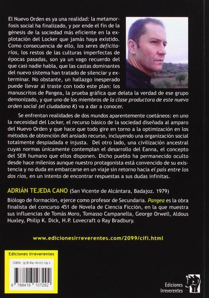 Pangea ADRIAN TEJEDA 9788416107292 Amazon Books