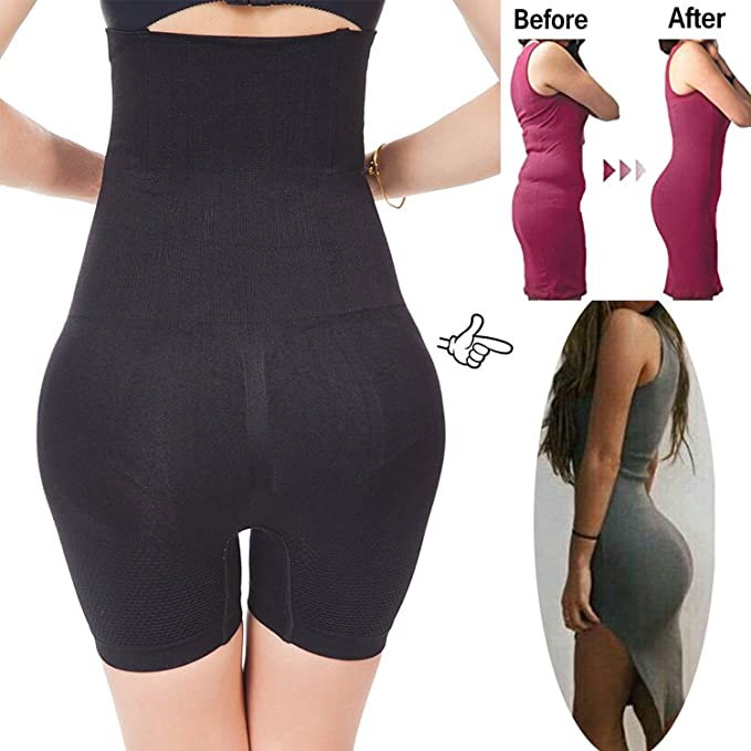 217de2374823c Image Unavailable. Image not available for. Color  FLORATA Womens Shapewear  Bodysuit High Waist Tummy Control With Butt Compression Shorts