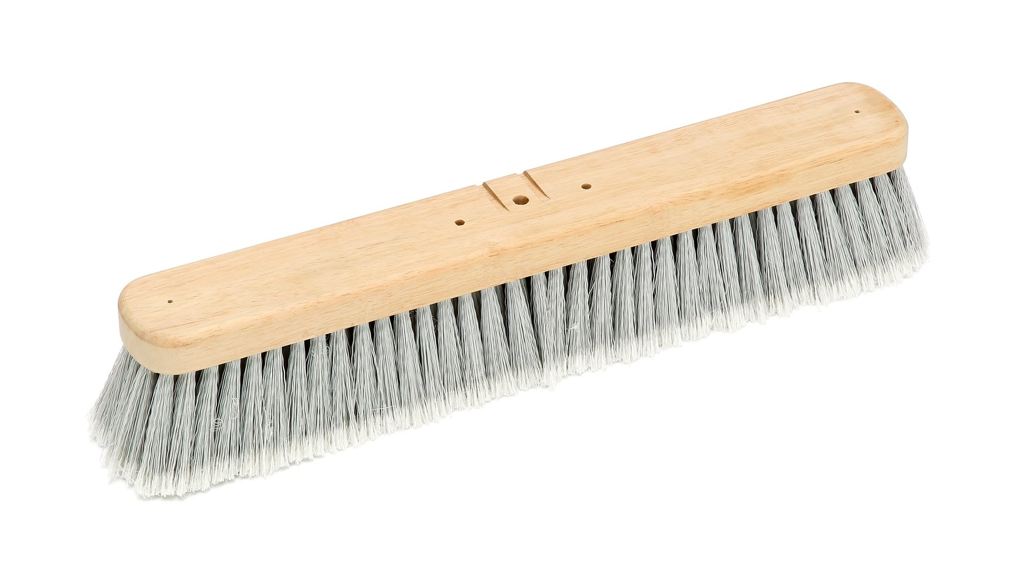 Harper Brush 142112 Broom Head, Polystyrene Fiber, Indoor, Smooth Surface, Hard Wood, 18'' (Pack of 6)