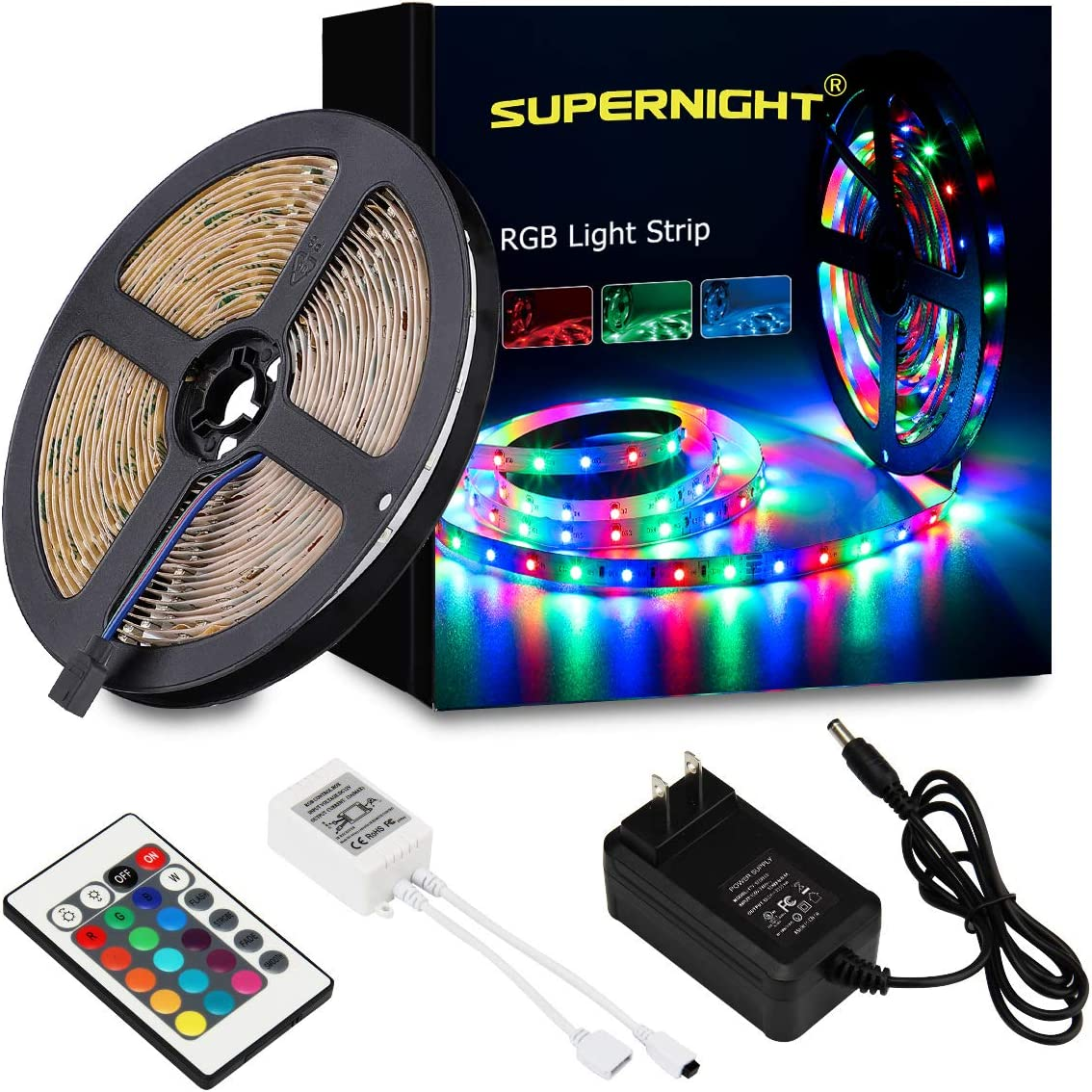 500 mm Yellow 30 LEDs LED Strip Not Rated 1.9 W 12 VDC