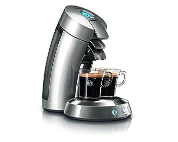 Senseo HD7830/51 - Cafetera (Máquina de café en cápsulas, 1,2 L, 1450 W, Cromo, Plata): Amazon.es: Hogar