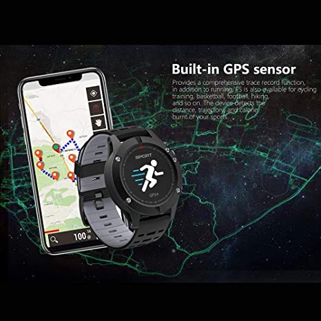 SYMTOP NO.1 F5 Smart Watch Monitor de Ritmo Cardíaco ...