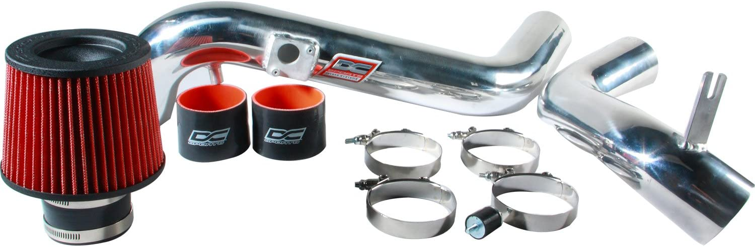 for 07-11 Camry Venza V6 DNA MOTORING DNAMotoring Silver AIP-2-HS-TVEZ07-SLSL Aluminum Cold Air Intake System w//Heat Shield
