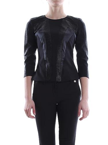 Elisabetta Franchi - Camiseta - para mujer negro Size: 42